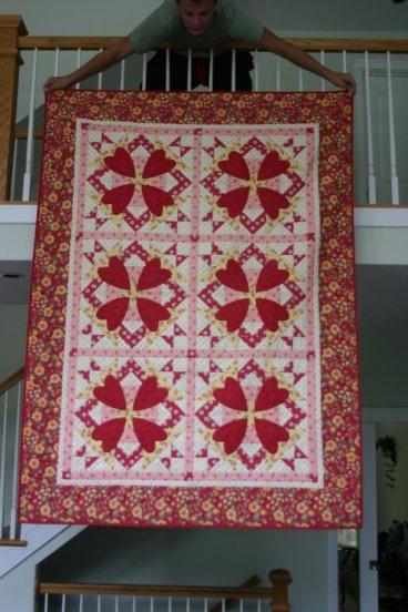 raffle quilt 2010