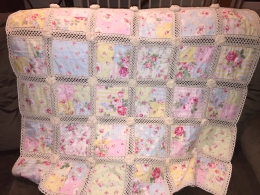 Finally! Granddaughter is about 15 months now - here's her quilt.
