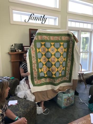 Grandbaby #12 quilt - no binding.