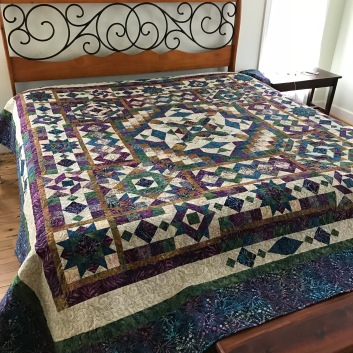 The Wedding quilt completed