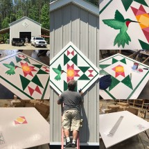 Barn quilt for my husband's barn