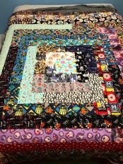 Quilt for grandson - made by his mom