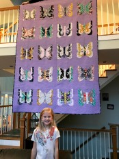 Granddaughter's quilt - made by her mom