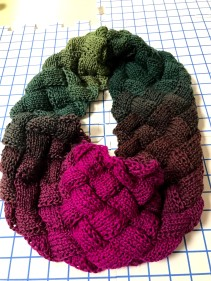Eternity scarf for my daughter